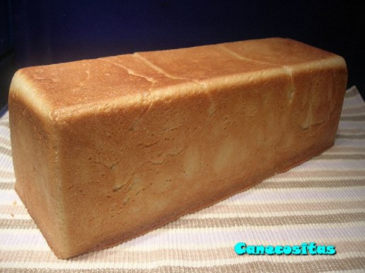 Pan de molde de nata Recetariocanecositas