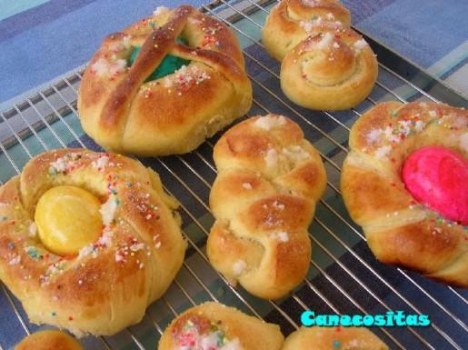 Huevos de Pascua Monas20086