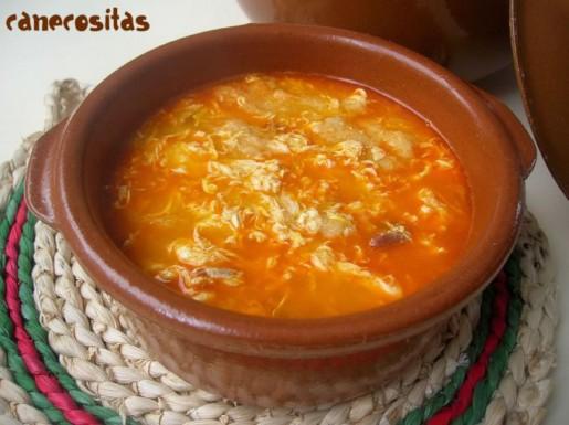Sopa de ajo recetariocanecositas - Sopa castellana casera ...