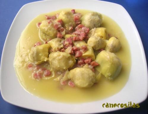 jamón con Alcachofas Recetariocanecositas Alcachofas con jamón Recetariocanecositas tshQdr