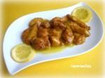Pollo al limón chino 1
