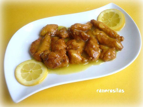 Pollo al lim n estilo chino recetariocanecositas - Salsa de pollo al limon ...