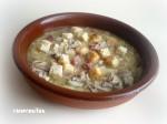 Sopa de sobre con picadillo 1