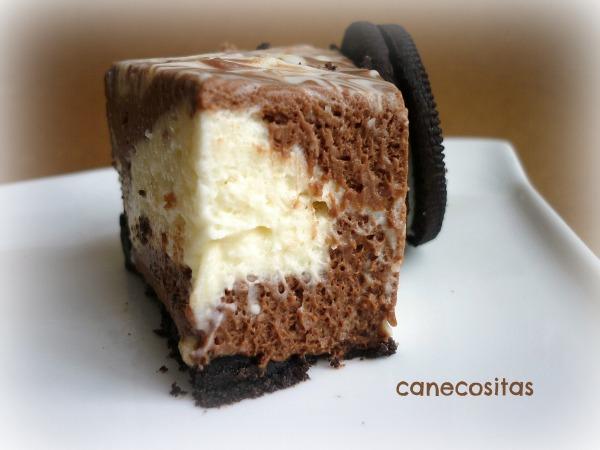 Cheesecake marmolado sin horno
