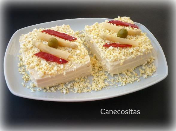 Sandwich de atún y esparragos 1 thermomix