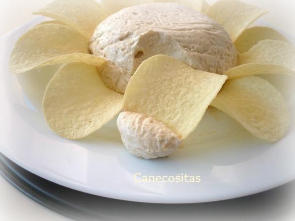 Dip de cebolla y nata 3 thermomix