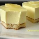 Mousse de limón con gelatina de gin tonic 3 thermomix