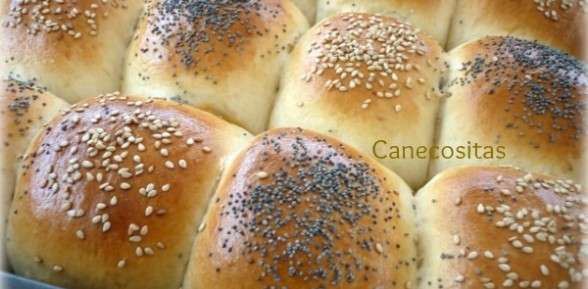 Pan picnic de sabores o bollitos rellenos