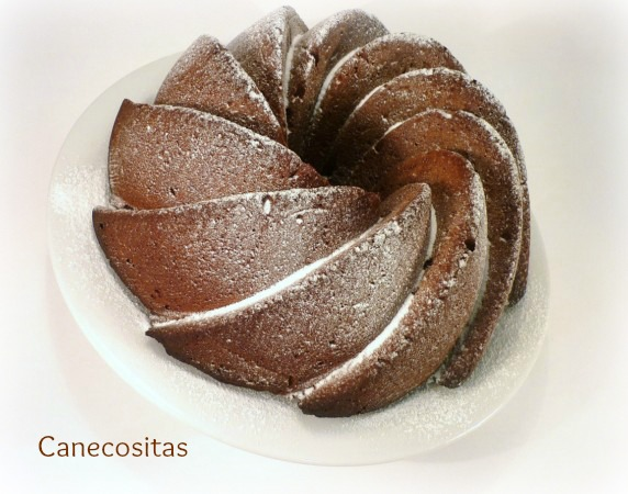 Bundt de chocolate y naranja 1 thermomix
