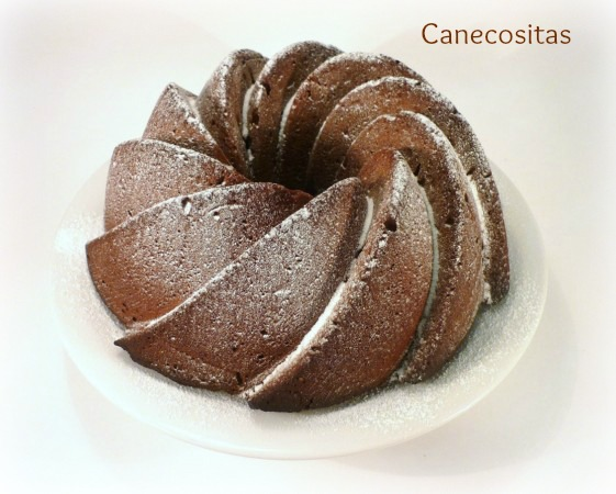Bundt de chocolate y naranja 2 thermomix