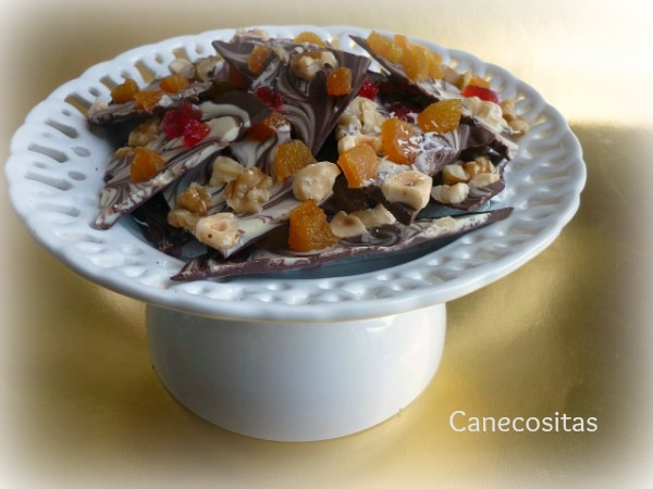 Tejas de chocolate 3 thermomix