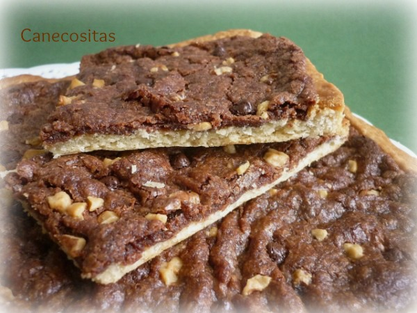 Coca con capa de chocolate 4 thermomix