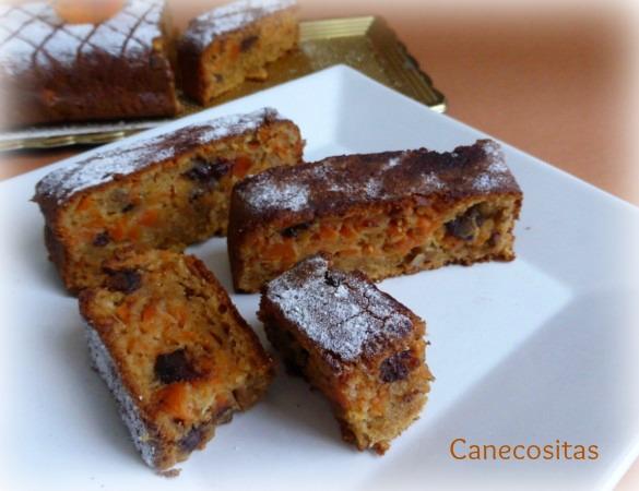 Pastel de zanahorias y galletas 3