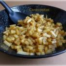Patatas para guarnición en microondas 1