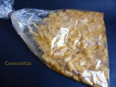 Patatas para guarnición en microondas 3