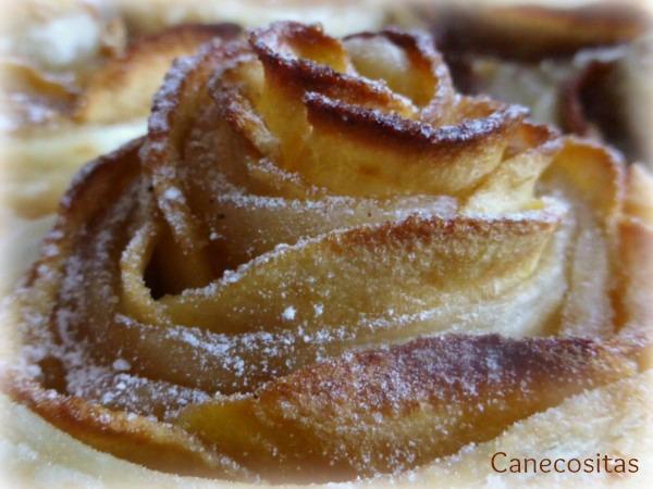Rosas de hojaldre y canela 4 thermomix