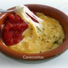 Tomate confitado con queso provolone 2 thermomix