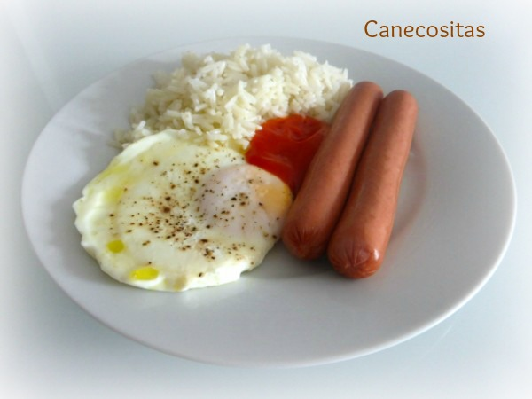 Arroz a la cubana 4 thermomix