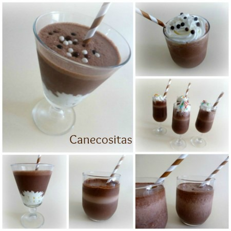 Batido de chocolate  thermomix