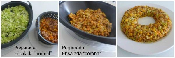 Ensalada de lentejas y at n con thermomix for Cocinar lentejas de bote