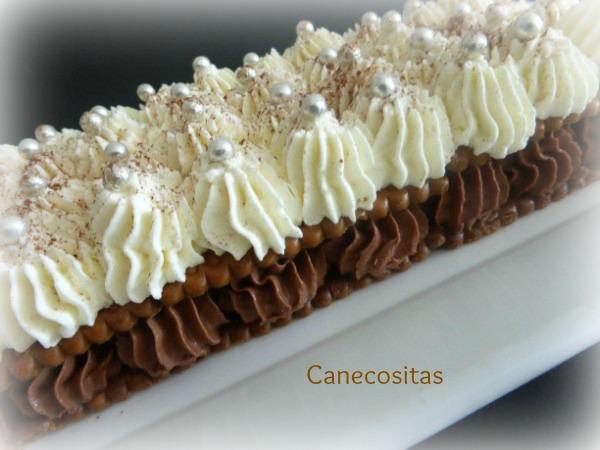 Tarta de trufa y nata con galletas 2 thermomix