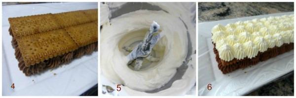 Tarta de trufa y nata con galletas 4 thermomix