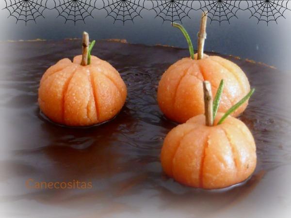 Bizcocho de calabaza 3 thermomix Halloween