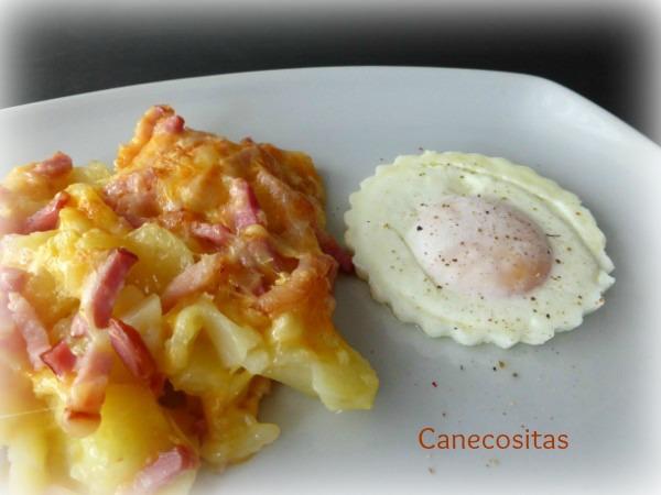 Patatas al vapor gratinadas con queso y bacon 2 tm5