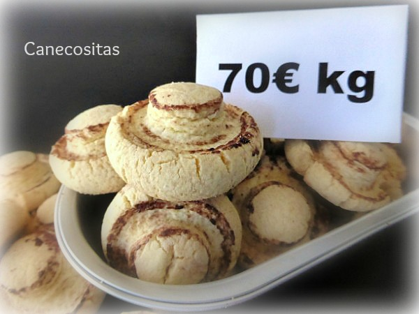 Galletas champiñón 4 thermomix