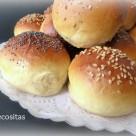 Pan para hamburguesas 3 thermomix