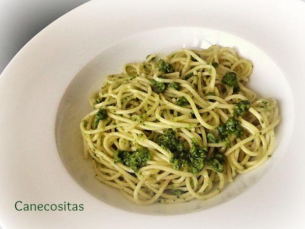 Spagettis al pesto 3 thermomix