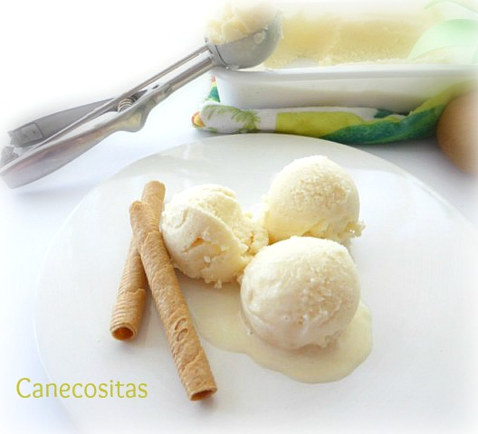helado de piña y coco thermomix